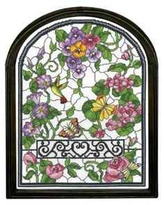SUMMER FOUR SEASONS STAINED GLASS