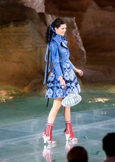 Kendall Jenner teetered in the heels
