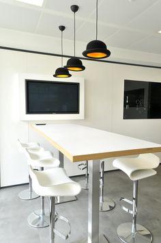 Cafeteria pour DAVIDSON réalisée par Cléram #style #design #bureau ...