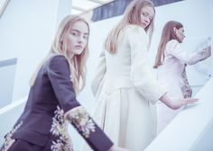 Backstage at Christian Dior Haute Couture Fall Winter 2014 Show