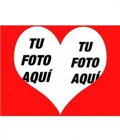 Taza de café en forma de corazón con tu fotografía dentro. - fotoefectos.com North Face Logo, Company Logo, Logos, Color Rosa, Pink Hearts, Love Cards, Heart Shapes, Anniversary Pictures, Photo Montage