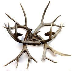 Vintage Deer Antler Wall Sconce Lighting Fixture – Yourgreatfinds