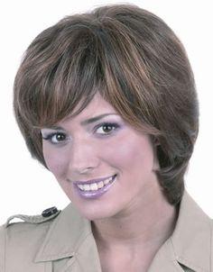 International Wigs®: Brigitte Human Hair by Trend European Costume Wigs, Cosplay Wigs, Remy Human Hair, Human Hair Wigs, Bob Styles, Short Hair Styles, Lace Front Wigs, Lace Wigs, Kids Wigs