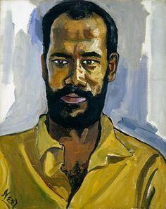 Abdul Rahman, 1964, by Alice Neel
