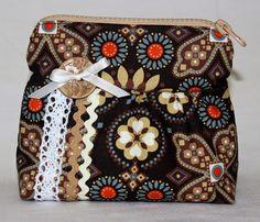 hand made cosmetic bag текстильная косметичка