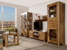 Schön wohnzimmermöbel massivholz