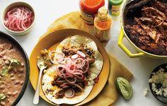 Chile-Braised Pork Shoulder Tacos | 23 Delicious Pork Shoulder Recipes To Feed A Crowd