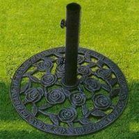 Pied pour parasol de jardin en fonte 7 kilos diam 39 cm