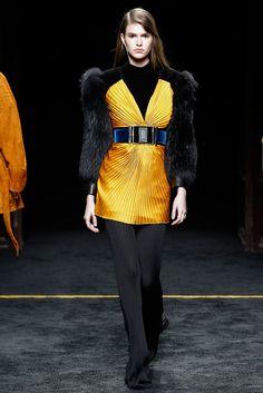 Balmain Fall 2015 Ready-to-Wear Fashion Show - Vanessa Moody (Women)
