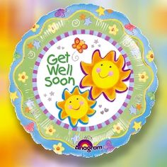 Get Well Soon Sunshine Theme