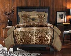 animal print quilts | Veratex Kimba Leopard Animal Print Bedding