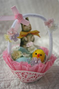 easter basket #sweet #easter #easter_basket #spring