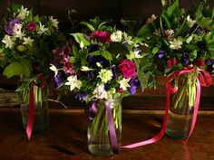 Winter anemones and paper whites by Common Farm - seasonal winter wedding flowers all English country flowers grown in the UK Winter Wedding Flowers, Autumn Wedding, Anemone Wedding, Manor Garden, Flowers In Jars, British Flowers, Flower Farm, Growing Flowers, Flower Delivery