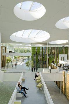 Nowoczesne biuro, nowoczesne wnętrze biura, design wnętrza biurowego, inspiracje u Pani Dyrektor.
