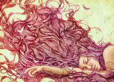 The beautiful illustrations of Miné Jonker