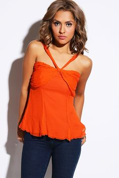 Sash Tie Draped Silk Party Top