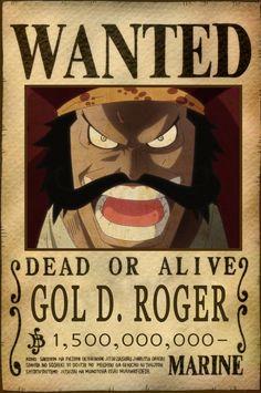 5e712113bae gol d  roger bounty king of pirates ( dead )