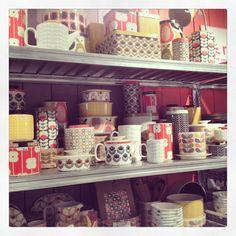 Orla kiely kitchen range Picture: P. Steen.