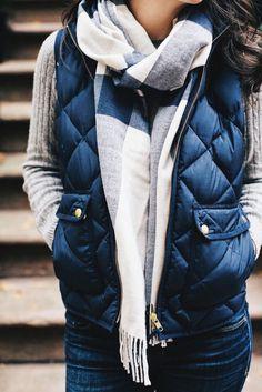 excursion quilted vest #jcrew