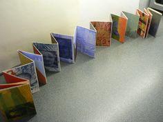 mixed media transfer concertina