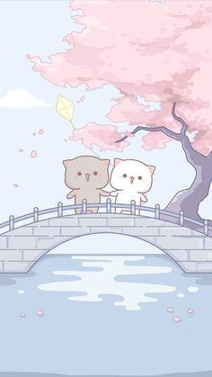 Cute Panda Wallpaper, Cute Couple Wallpaper, Cute Pastel Wallpaper, Cute Patterns Wallpaper, Cute Disney Wallpaper, Kawaii Wallpaper, Cute Cartoon Images, Cute Cartoon Drawings, Cute Love Cartoons