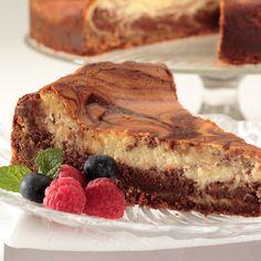 Abuelita Marble Cheesecake Recipe   Nestle Meals.com I used a cinnamon whipped cream rather than plain.