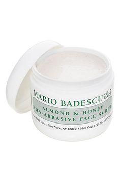 almond & honey face scrub / mario badescu