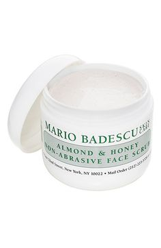 almond & honey face scrub / mario badescu