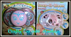 Win a personalized (or not) Raz Baby Pacifier LOW ENTRY Ends 5/30