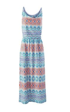 CAbi AZTEC IN THE SUN Maxi Dress NEW sz m Jersey Casual Spring/Summer # 317 #CAbi #Sundress #Casual