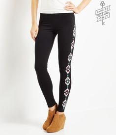 Invite Only Diamond Leggings from Aeropostale