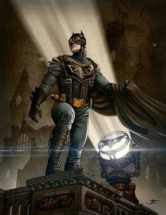 Dieselpunk Batman