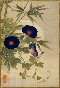 heaveninawildflower: Silk painting of flowers by Okamoto Shūki (Japan, from an album of pictures of birds and flowers.Image and text courtesy LACMA Japan Painting, Silk Painting, Art Floral, Fleurs Art Nouveau, Impressions Botaniques, Illustration Botanique, Art Asiatique, Japanese Flowers, Korean Art