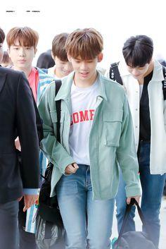 Hyunsuk at Incheon Airport