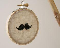 Mustache Necklace von neawear auf Etsy