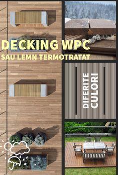 Alege fie decking WPC cu 70% lemn si 30% compozit, fie decking din lemn de frasin termotratat pentru o pardoseala exterioara pentru 100 de ani!
