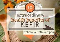 10 Extraordinary Health Benefits Of Kefir/Kephir Kefir Recipes, Nutribullet Recipes, Low Calorie Breakfast, Breakfast Smoothies, Kefir Benefits, Health Benefits, Smoothies Healthy Weightloss, Health Guru, Best Homemade Dog Food