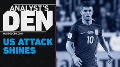 #MLS  Christian Pulisic and Clint Dempsey lead high flying USA | Analyst's Den