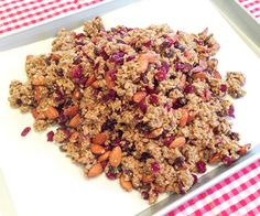 """How To Make Your Own """"Highly Addicting"""" Granola Clusters. - One Good Thing by Jillee A Food, Good Food, Food And Drink, Yummy Food, Dog Food Recipes, Snack Recipes, Cooking Recipes, Healthy Treats, Healthy Eating"""