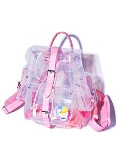 c35b40dbab0f Teenage Dream Backpack Clear Backpacks