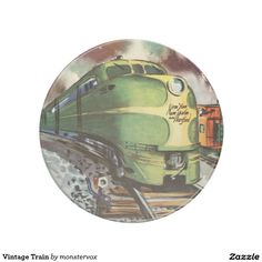 Vintage Train Drink Coaster #Train #Locomotive #Travel #Transportation #Vintage #Beverage #Drink #Sandstone #Coaster