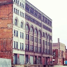 Historic West Bottoms, Kansas City -  crowds flock to galleries and shops on First Saturday's.