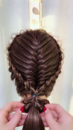 Best 11 Today we are going to create another easy and elegant updo First, my hair is straight today, I'm gonna tease Curly Hair Styles, Natural Hair Styles, Elegant Updo, Braids For Short Hair, Hair Hacks, Makeup Hacks, Hair Videos, Hair Designs, Fine Hair