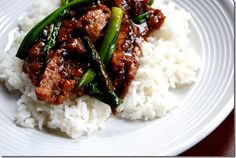 Mongolian Beef-This is a new favorite at our house. My husband rated this in his top 5 favorite meals!  LOVE LOVE!!!!!! Make it for sure.