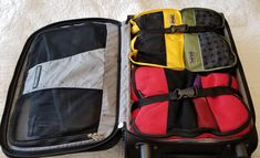 Tips for packing carry on luggage only for any length trip. Carry On Packing, Carry On Luggage, Packing Tips, First Time Flyer, North Face Backpack, Suitcase, Under Armour, Backpacks, Bags
