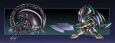 Znalezione obrazy dla zapytania alien vs predator grafika