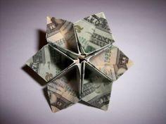 Money Origami: 10 Flowers to Fold Using a Dollar Bill The Modular Flower