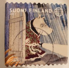 Moomin, Finland, Stamps, Seals, Postage Stamps, Stamp