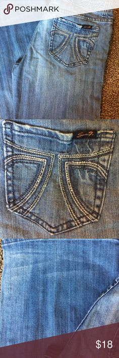 """Seven 7 Bootcut jeans Great jeans for everyday. 31"""" inseam. Seven7 Jeans Boot Cut"""