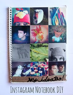 DIY Tutorial Diy back to school / DIY notebook - Bead&Cord Photo Projects, Craft Projects, Craft Ideas, Crafts To Do, Diy Crafts, Book Crafts, Dance Team Gifts, Cool Gifts For Teens, Diy Back To School